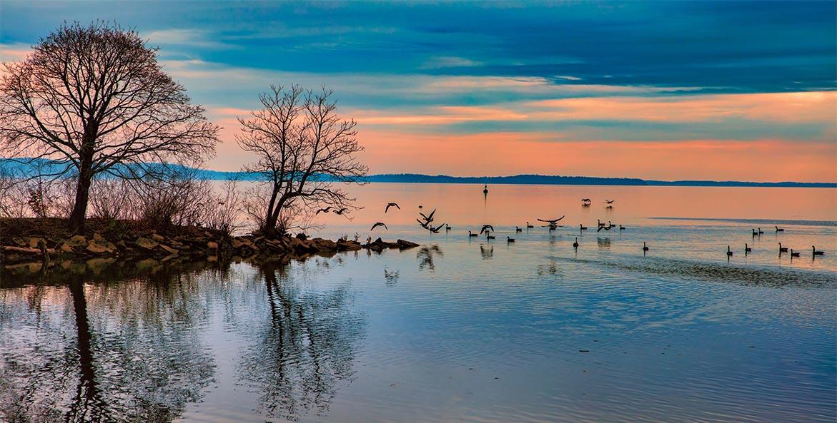 Chesapeake Sunset - Steven Hayre - 1171x593