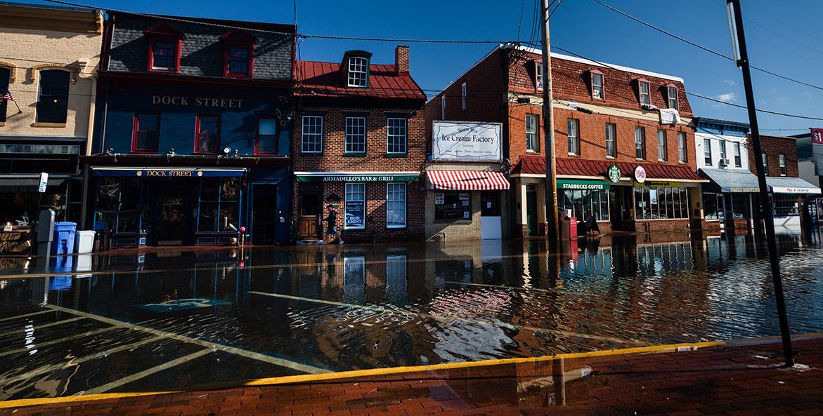 Flooded City Dock-cr Will Parson-CBP-1171x593