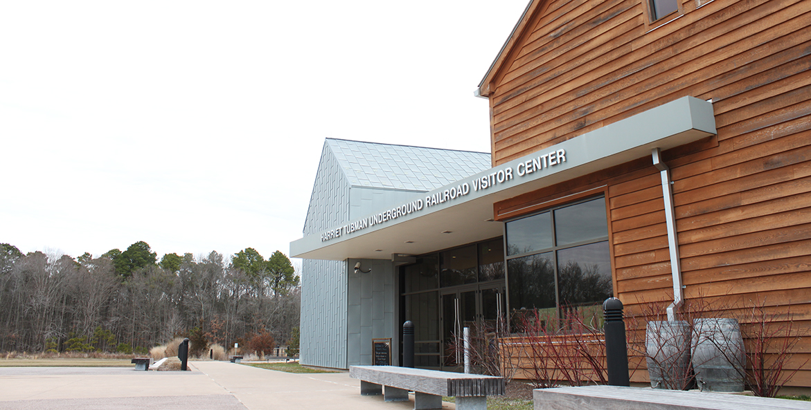 Park visitor center buildings.