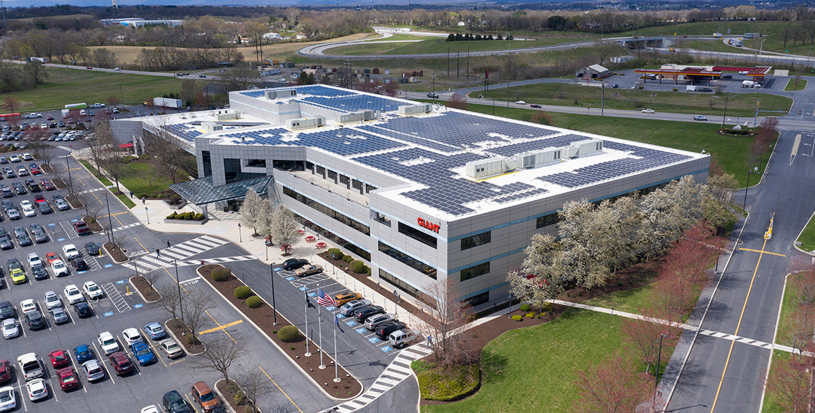 Solar panels at GIANT HQ - GIANT - 1171x593