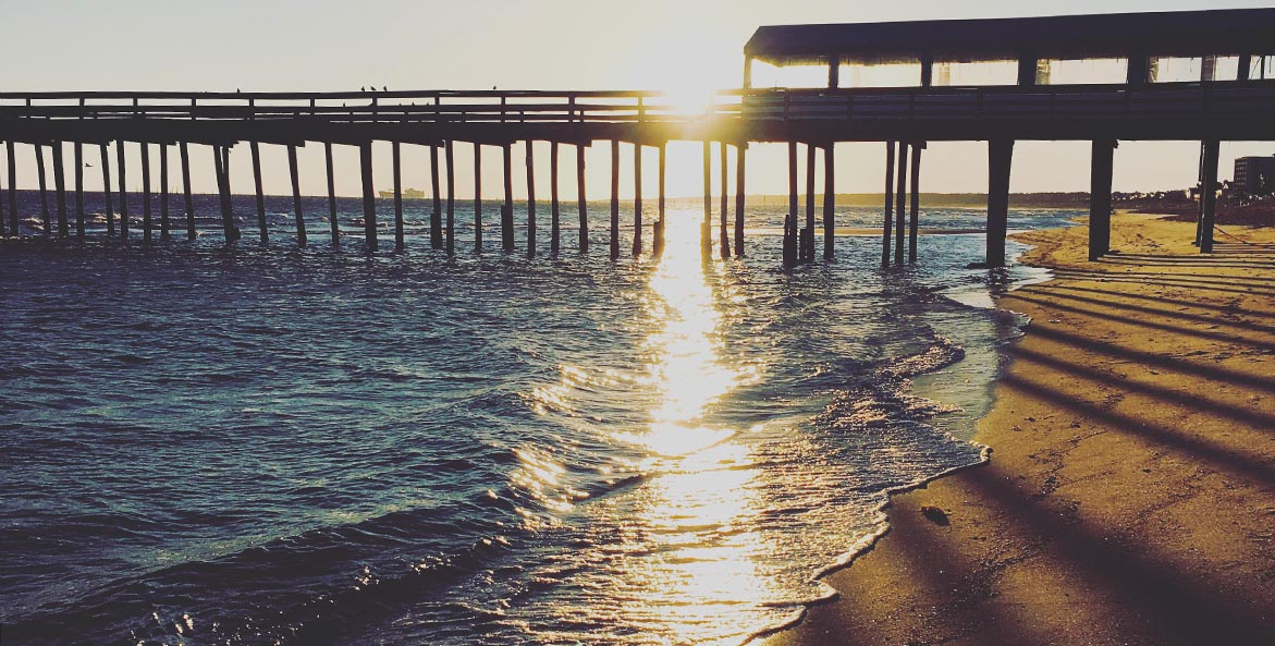 Sunrise at Lynnhaven Pier AshleySementelli 1171x593