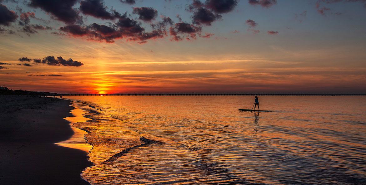Sunset paddle in VA - Chris Giersch - 1171x593