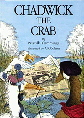 Chadwick the Crab by Priscilla Cummings book cover