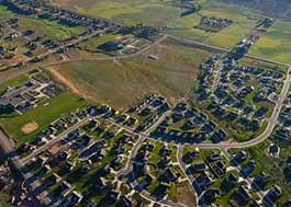 Image of urban sprawl.