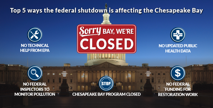 Government Shutdown and the Bay