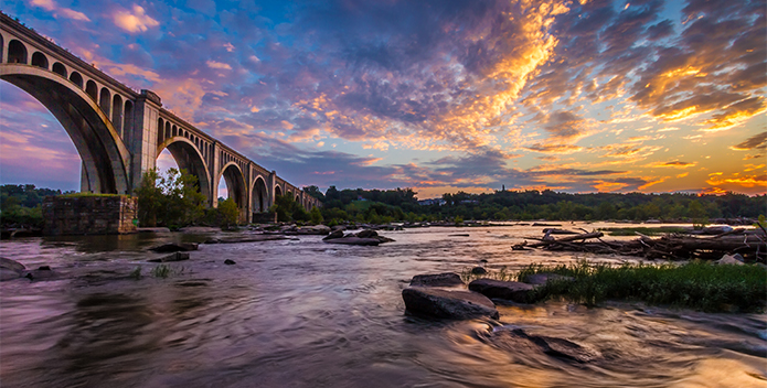 James-River-Sunrise