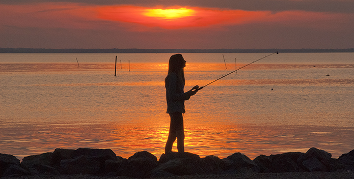 Rappahannock Sunset Fishing