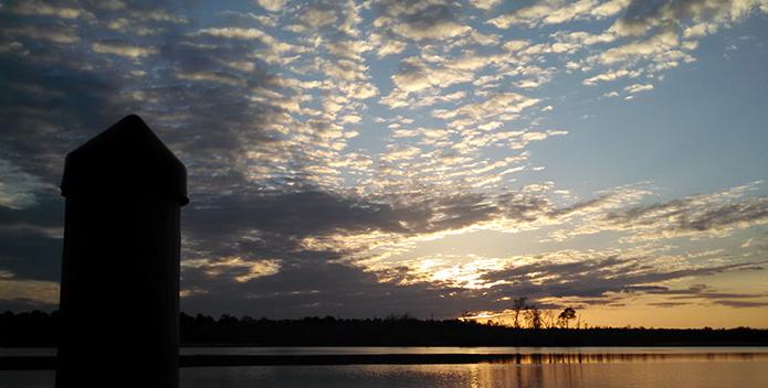 Sunset on the Mattaponi River