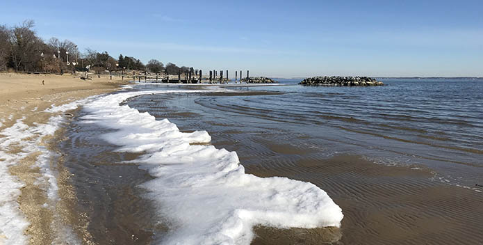 Winter in the Chesapeake in Annapolis