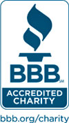 Better Business Burea Wise Giving Alliance Accredited Charity seal