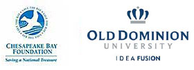 Logos for Chesapeake Bay Foundation and Old Dominion University
