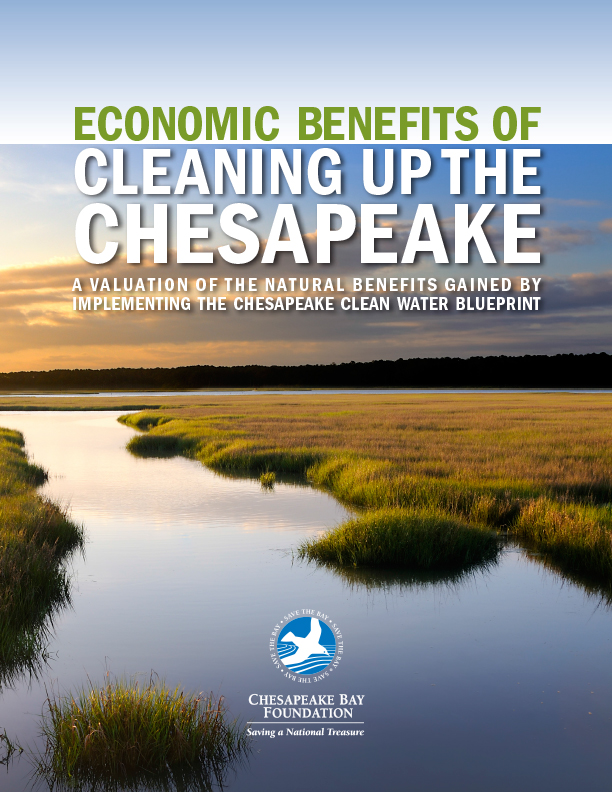 Economic Benefits of Cleaning Up the Chesapeake: A Valuation of the Natural Benefits Gained by Implementing the Chesapeake Clean Water Blueprint