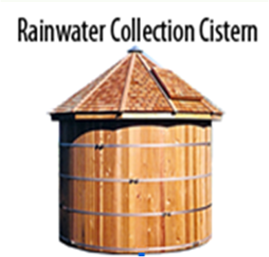 Rainwater collection cistern. Smith Group JJR