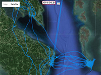 osprey tracking map thumbnail