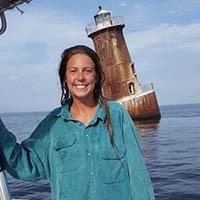 CBF's Chesapeake Conservation Corps Member Morgan Jones.
