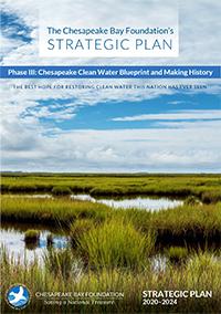Cover of CBF's 2016-20 Strategic Plan